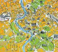 Rome Touristic City Map - Mapsof.Net Map