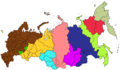Russia Time Zone Map - Mapsof.net