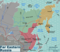 Russian Far East Regions Map - Mapsof.Net Map