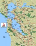 San Francisco Bay Area Map - Mapsof.Net Map