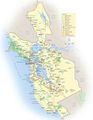 San Francisco Travel Map 1 - Mapsof.Net Map