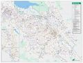 Santa Clara Bike Way Map - Mapsof.net