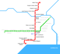 Santo Domingo Metro Map - Mapsof.Net Map