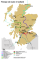 Scotland Rail Map - Mapsof.net