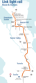 Seattle Light Rail Map (metro) - Mapsof.net