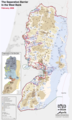Separation Barrier Map West Bank - Mapsof.net