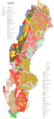 Soil Map of Sweden - Mapsof.Net Map