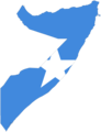 Somalia Flag Map - Mapsof.Net Map