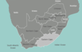 South Africa Eastern Cape Map - Mapsof.Net Map