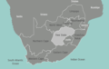 South Africa Free State Map - Mapsof.Net Map