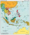 Southeast Asia Political Map Cia 2003 - Mapsof.Net Map