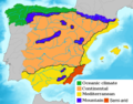 Spain Climate Map - Mapsof.Net Map