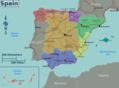 Spain Map - Mapsof.Net Map