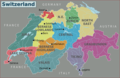 Switzerland Regions - Mapsof.net
