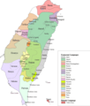 Taiwan Languages - Mapsof.net