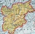 Trentino Alto Adige Political Map - Mapsof.Net Map