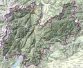 Trento Physical Map - Mapsof.net