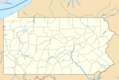 Usa Pennsylvania Location Map - Mapsof.Net Map