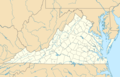 Usa Virginia Location Map - Mapsof.Net Map