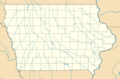 Usa Iowa Location Map - Mapsof.Net Map