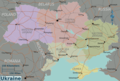 Ukraine Regions Map - Mapsof.Net Map