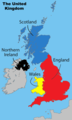 United Kingdom Labelled Map - Mapsof.Net Map