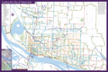 Vancouver Bike Map - Mapsof.net