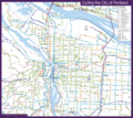 Vancouver Downtown Bike Map (city Center) - Mapsof.net