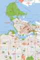 Vancouver Downtown Map - Mapsof.net