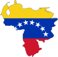Venezuela Flag Map - Mapsof.Net Map