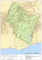 Volta Basin Map - Mapsof.Net Map