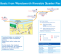 Wandsworth Pier Route Map - Mapsof.Net Map