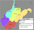 West Virginia Regions Map - Mapsof.Net Map