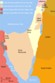Yom Kippur War Map - Mapsof.Net Map