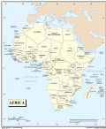 Africa Countries Map 2012 - Mapsof.Net Map