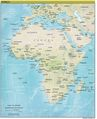 Africa Continent Map - Mapsof.Net Map
