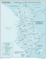 Albania - Mapsof.Net Map