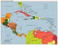 America Caribbean Political Map - Mapsof.Net Map