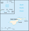 American Samoa Cia Wfb Map - Mapsof.Net Map