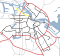 Amsterdam Outline S Roads  S101 - Mapsof.net
