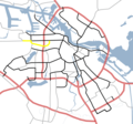 Amsterdam Outline S Roads  S104 - Mapsof.net