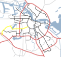 Amsterdam Outline S Roads  S106 - Mapsof.net