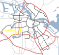 Amsterdam Outline S Roads  S107 - Mapsof.net