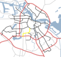 Amsterdam Outline S Roads  S108 - Mapsof.net