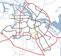 Amsterdam Outline S Roads  S110 - Mapsof.net
