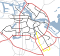 Amsterdam Outline S Roads  S111 - Mapsof.net