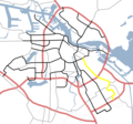 Amsterdam Outline S Roads  S113 - Mapsof.net