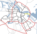Amsterdam Outline S Roads  S114 - Mapsof.net