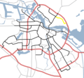 Amsterdam Outline S Roads  S115 - Mapsof.net