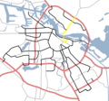 Amsterdam Outline S Roads  S116 - Mapsof.net